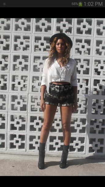 blouse beyonce shoes