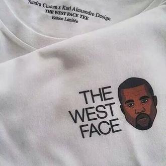 sweater crewneck sweater crewneck kanye west white sweatshirt