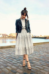 the little magpie,date outfit,shoes,midi dress,belted dress,bun,prom dress,vintage,hipster,old school,leather jacket,leopard print,high heels,rock