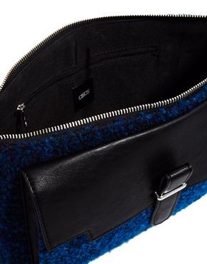 ASOS | ASOS Boucle Clutch Bag at ASOS