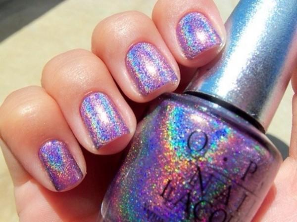 nail polish opi silver