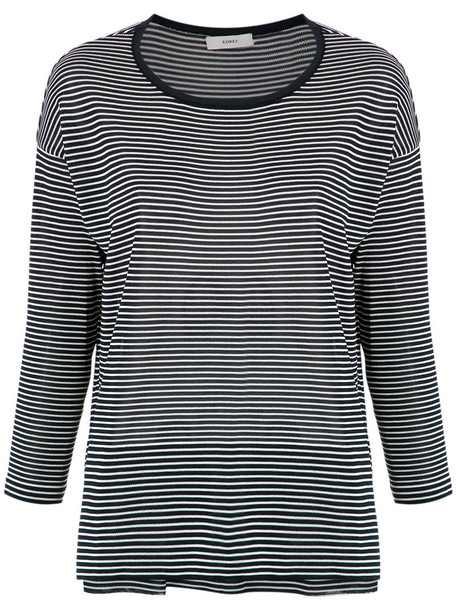Egrey - Firenze striped blouse - women - Viscose - G, Blue, Viscose