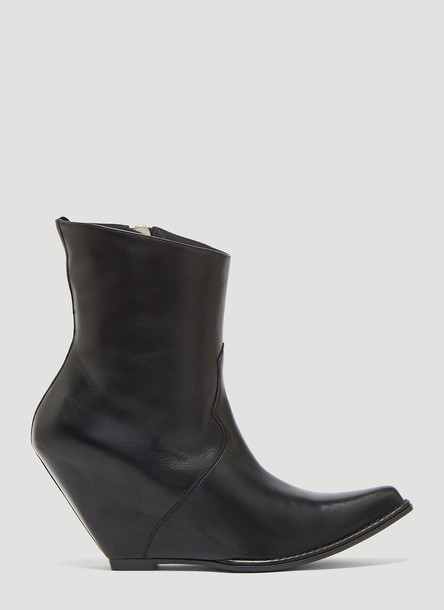 Unravel Project Western Ankle Boots in Black size EU - 37