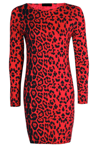 animal print black dress animal red long sleeve dress long sleeve mini dress midi dress