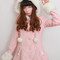 Kitty ears bow coat