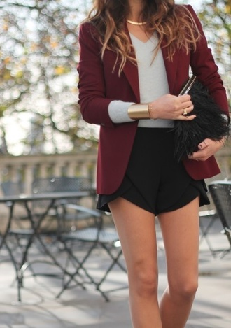 jacket blazer business jewels cute business sexy clothes shirt shorts bag