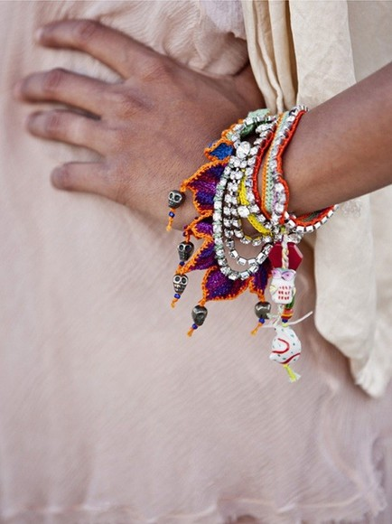 bracelet wrap bracelet jewels aztec stlye cute