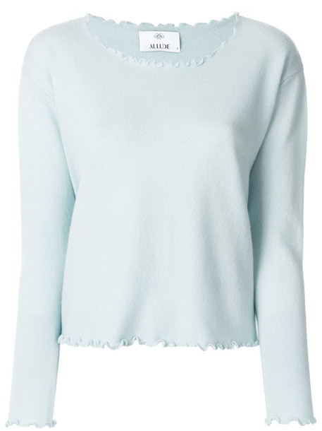 jumper women blue sweater