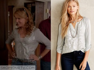 blouse sequins switched at birth anthropologie