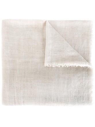 women scarf nude silk wool