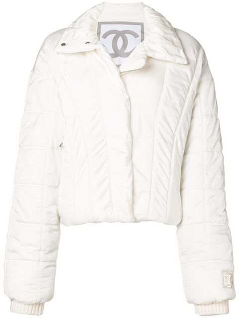 Chanel Vintage Padded Jacket - Farfetch