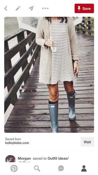 dress striped dress t-shirt dress scarf