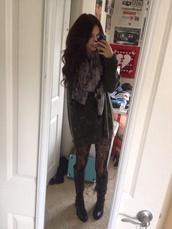 sweater,acacia brinley,underwear,scarf,shoes