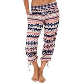 pants,chevron print pants,chevron,onzie,printed pants,pajama pants,pajamas,parachute leggings