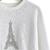Beads Eiffel Tower Lace Top in White - Retro, Indie and Unique Fashion