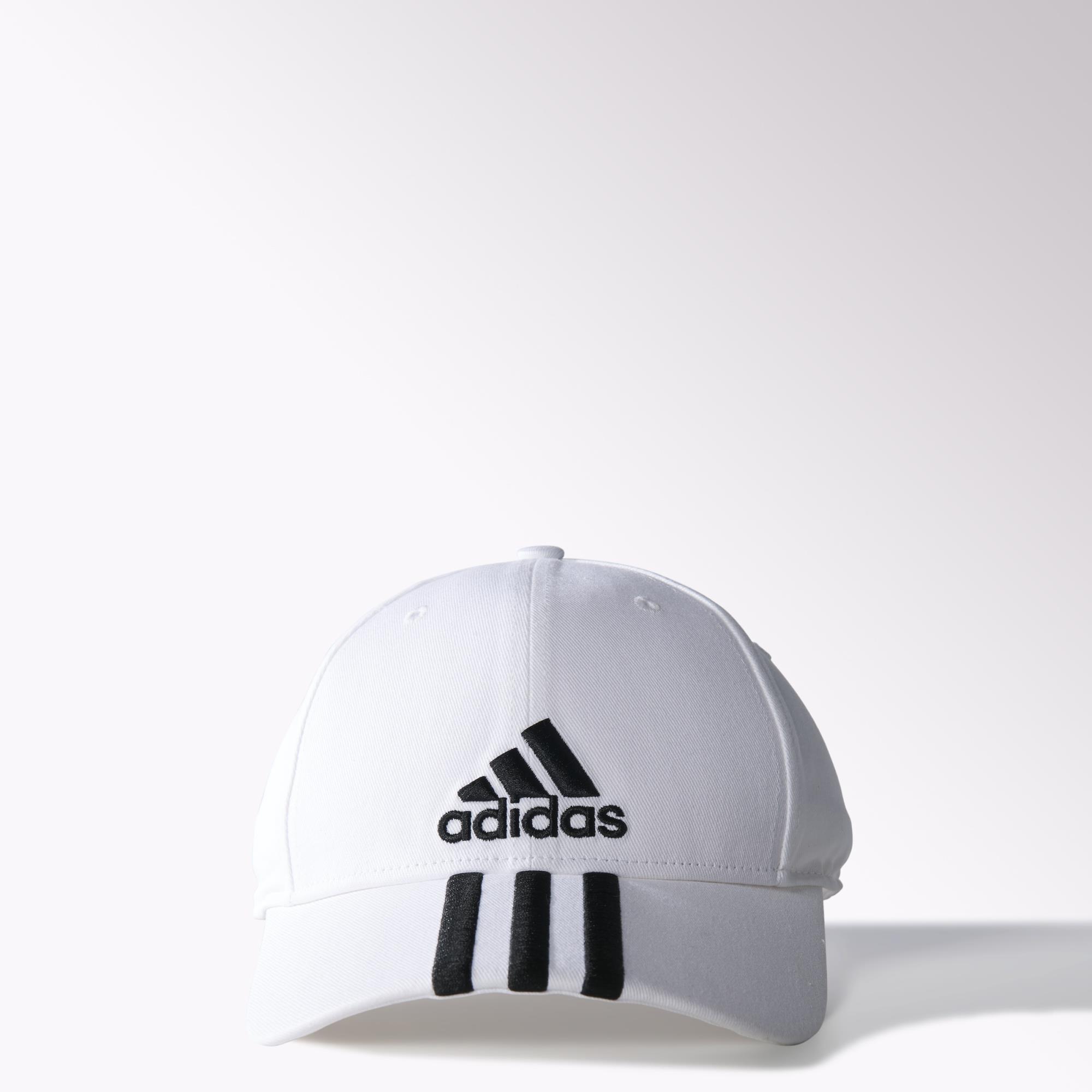 21107687ddda6 adidas Performance 3-Stripes Cap - White