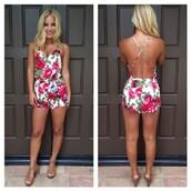 dress,jumpsuit,short,punk,combinaison,combinaison short