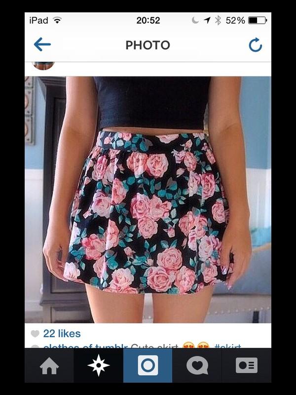 hipster short skirt