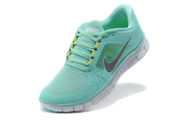 shoes yellow nike green running shoes running free run mint green nike free run