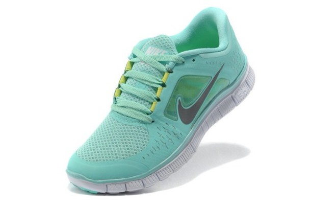 shoes green yellow nike running shoes running nike shoes nike free run mint nike free run