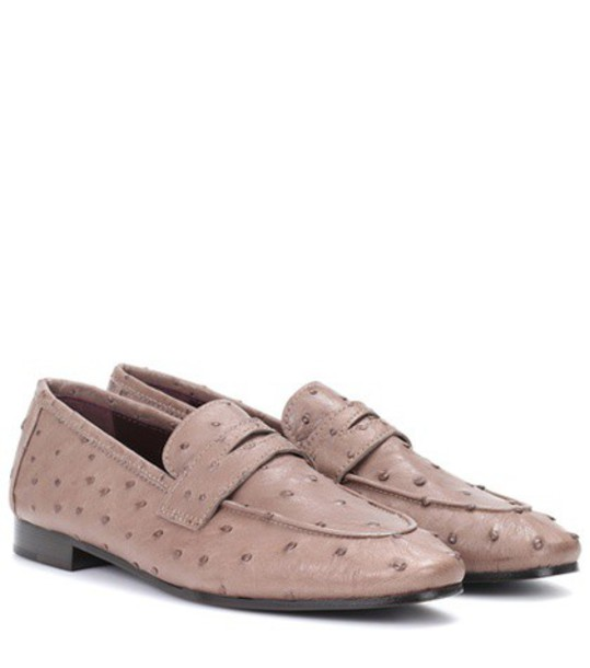 Bougeotte loafers leather brown shoes