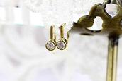 jewels,925 silver,golden earrings