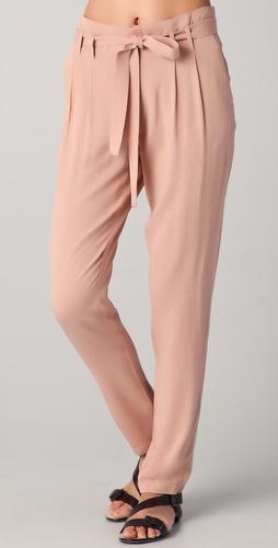Bb dakota able tie waist pants
