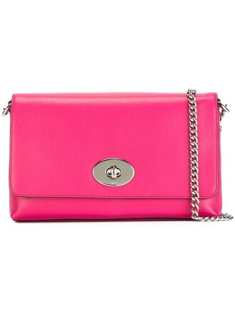 women bag shoulder bag purple pink