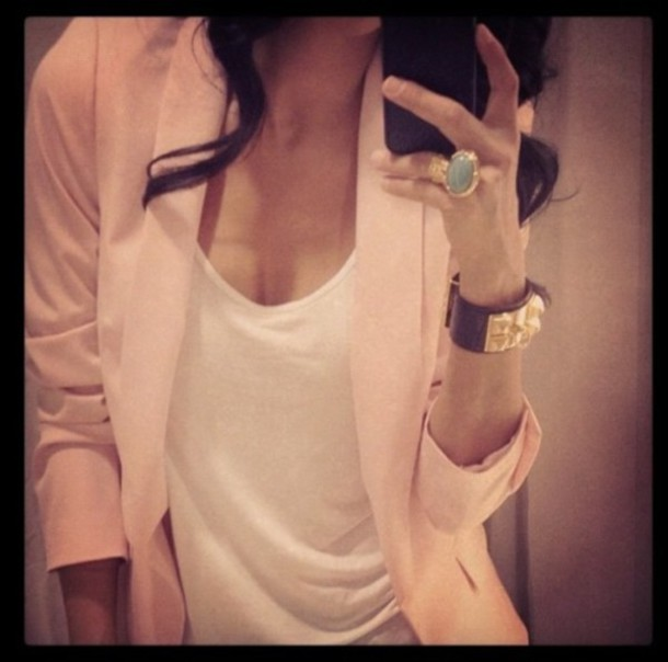 jacket blazer jewels