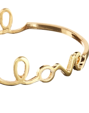 ASOS | ASOS Love Bangle Bracelet Pack at ASOS