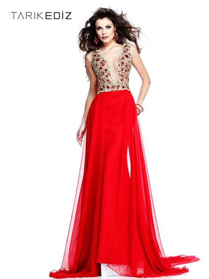 Tarik Ediz Evening dress 92260 - NetFashionAvenue - Reviews