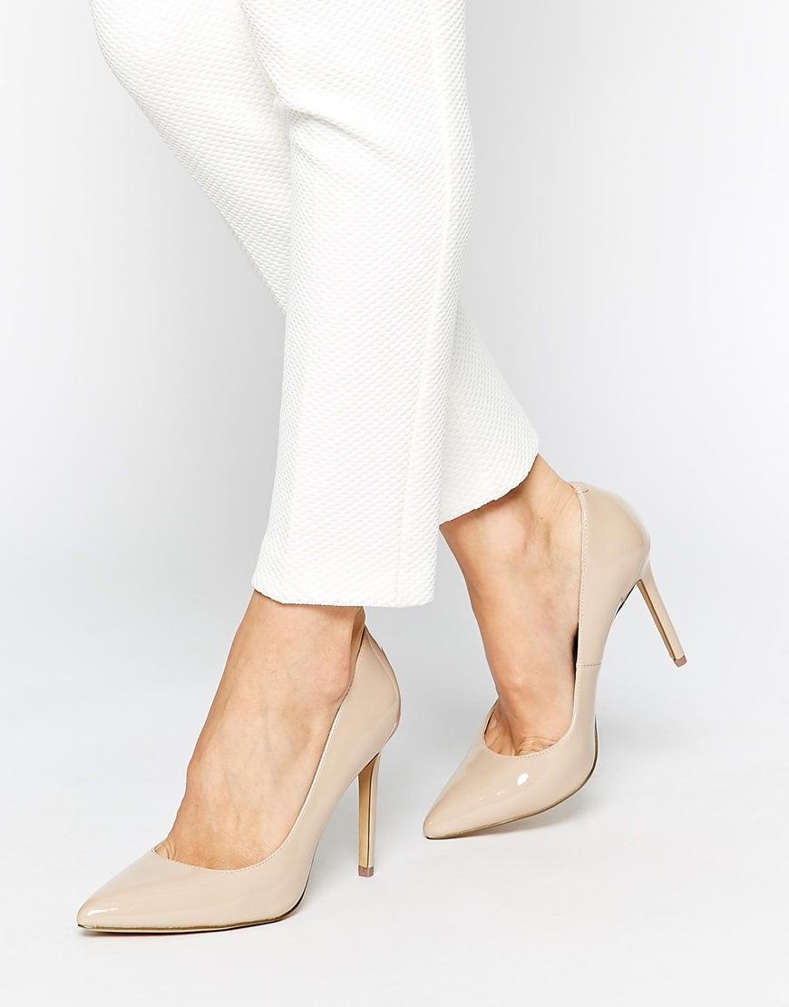 b015741ab3d KG by Kurt Geiger Bailey Nude Heeled Shoes at asos.com