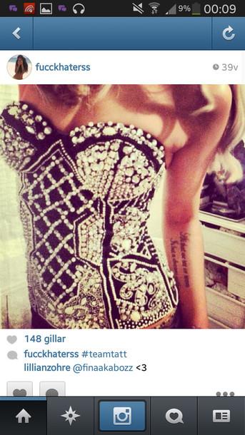 underwear bodysuit body black silver glitter silver