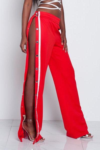 Bex Button Side Lounge Pants