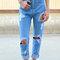 90's high waist distressed boyfriend jeans (all sizes)
