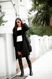 inside in inside out,skirt,jewels,shoes,bag,sunglasses,sweater,coat