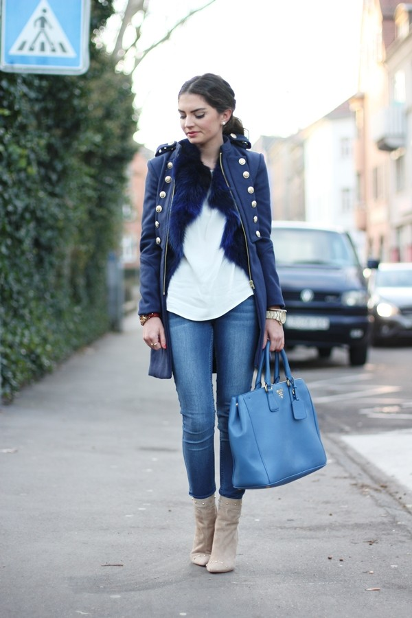 fashionhippieloves coat jacket blouse jeans jewels bag shoes