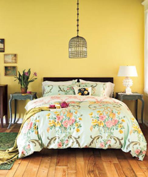 floral scarf pastel bedding boho hipster bedding floral bedding comforter