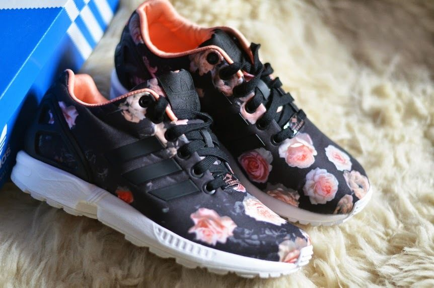 d5114f17fda51 ADIDAS ZX FLUX ROSES WOMENS US UK 3 4 4.5 5 5.5 6 6.5 7 7.5 ...
