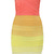 Lindsay Citrus Ombre Strapless Bandage Dress s M L Ellingson Bodycon Cocktail | eBay