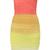 Lindsay Citrus Ombre Strapless Bandage Dress s M L Ellingson Bodycon Cocktail | eBay