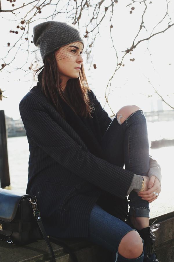 style scrapbook jeans shoes bag jacket hat