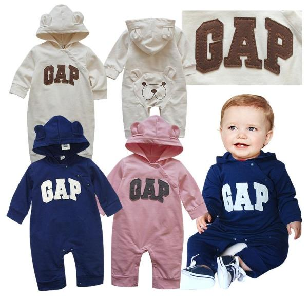 New Baby Gap Girls Boys Long Sleeves One Piece Jumpsuit Clothes Size