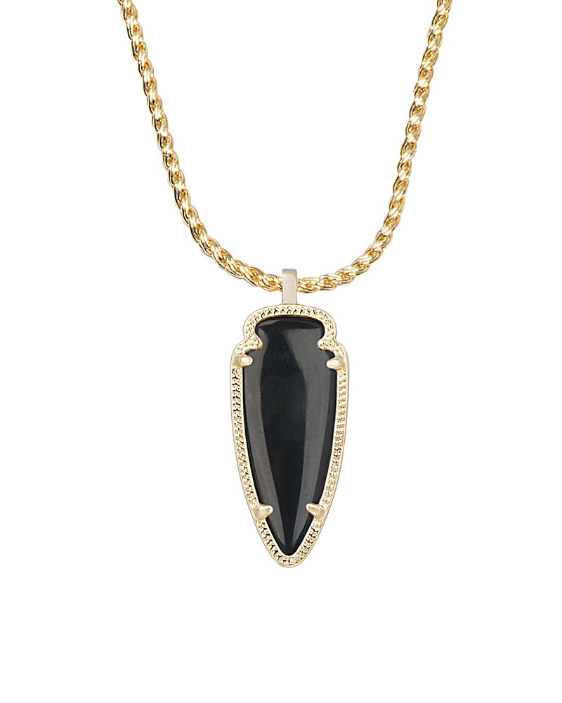 Shaylee Pendant Necklace in Black - Kendra Scott Jewelry