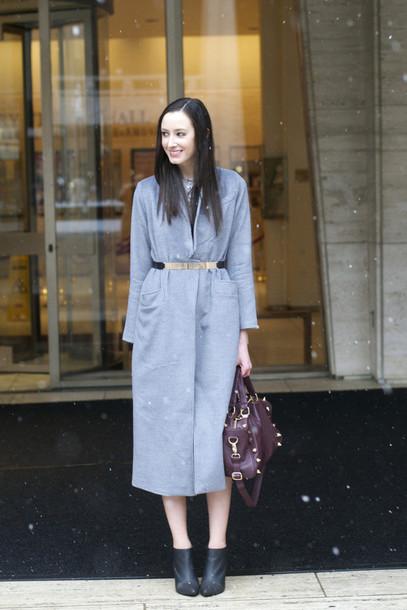 the glam files blogger jewels coat dress belt shoes bag