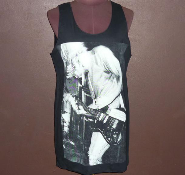 1cc8734d87464 tank top kurt cobain tank top t-shirt tank top top tank top clothes clothes.