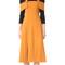 Whistles hester dress - orange