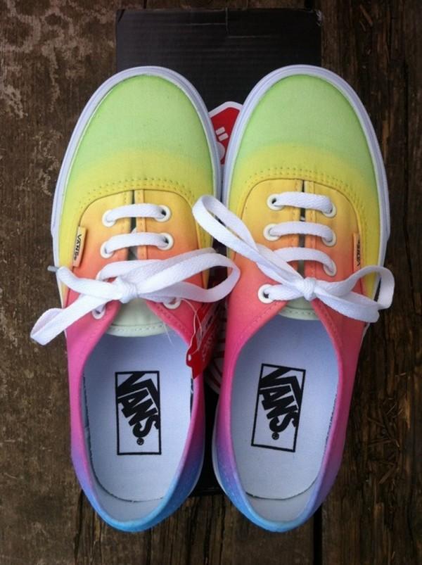 47c50cc3a5 Tie Dye Vans Tie Dye Shoes Vans Rainbow Shoes by ShopHeartOfGold