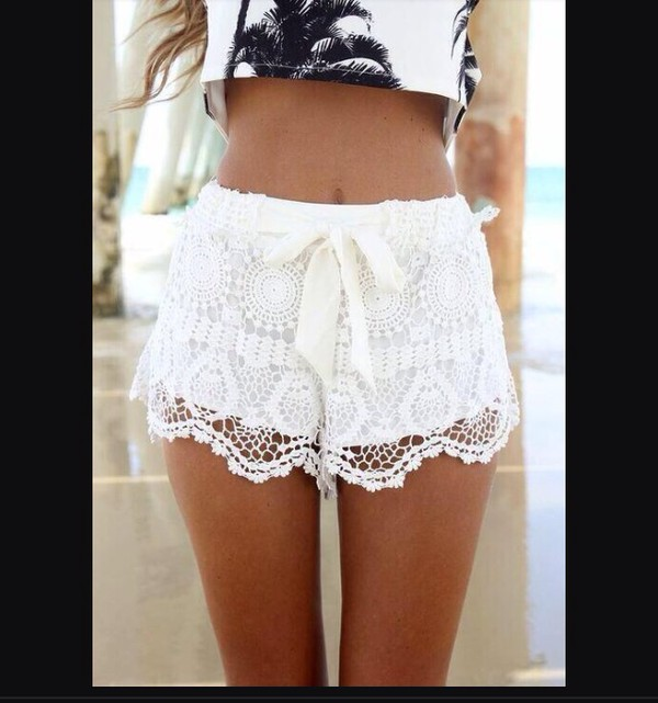 crop tops shorts palm tree print cute fashion style top