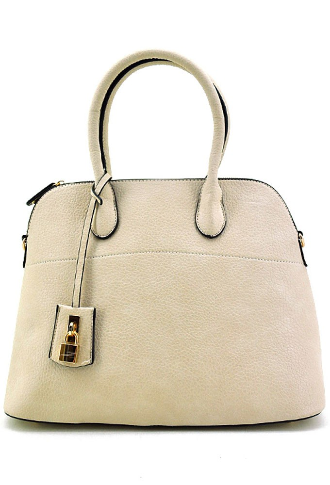 Trendy Clothing, Fashion Shoes, Women Accessories | Jane Satchel in Ivory | LoveShoppingMiami.com